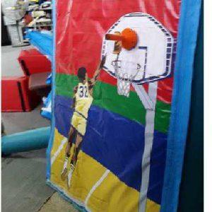 מתקן מתנפח כדורסל