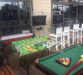 השכרת שולחן כדורגל ושולחנות משחק