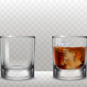 כוס וויסקי להשכרה